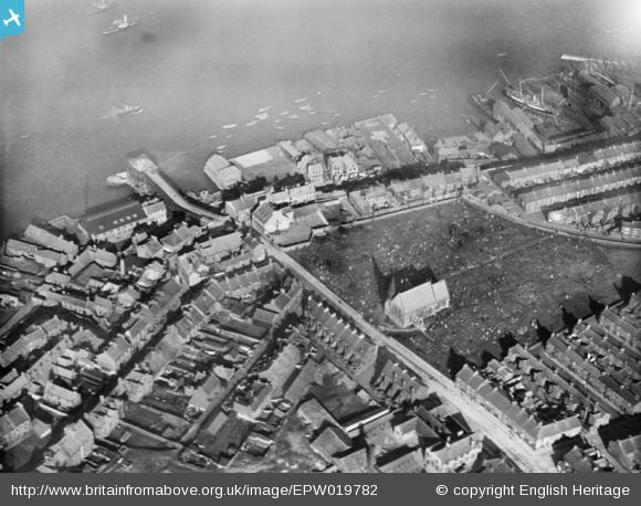 St. Stephen's, South Shields, 1927 aerial picture